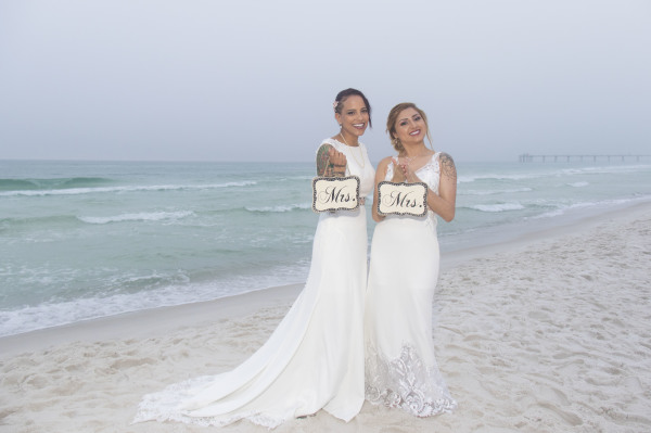 beach weddings, destin florida, romantic